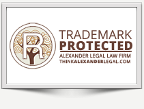 Image: Alexander Legal is ready to protect your trademark. Atlanta's leading trademark law firm.